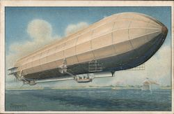 Zeppelin Postcard