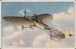 The Bleriot Monoplane Postcard