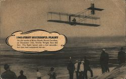 1903 - First Successful Flight Postcard