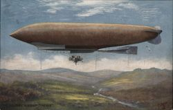 "The Military Airship ""Patrie"