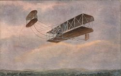 The Wright Biplane Postcard