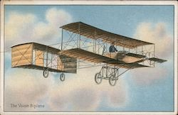 The Voisin Biplane Postcard