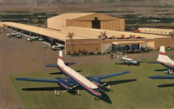 Pacific Airmative Corporation's new Aircraft & Engineering Center Postcard