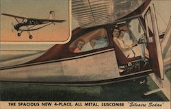 "The Spacious New 4-Place, all Metal, Luscombe ""Silvaire Sedan"""