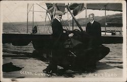Rare: Glenn Curtiss and Henry Ford