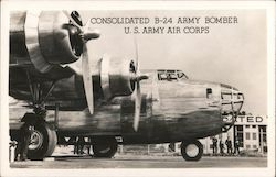 Consolidated B-24 Army Bomber U.S. Army Air Corps
