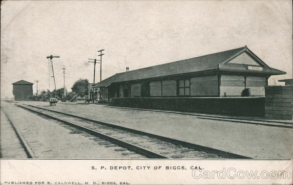 S.P. Depot Biggs California