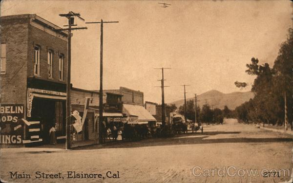 Main Street Elsinore California