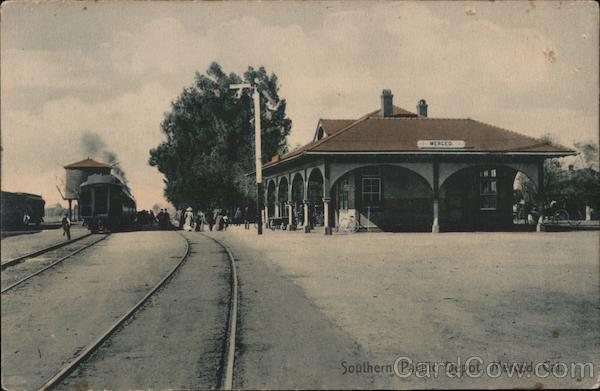 Southern Pacific Depot Merced California
