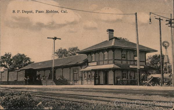 Southern Pacific Depot Paso Robles California