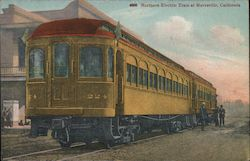 Northern Electric Train at Marysville, California