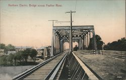 Northern Electric Bridge across Feather River