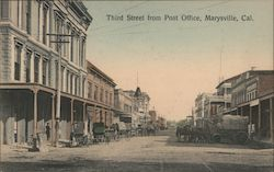 Third Street from Post Office