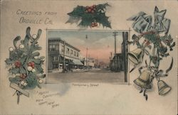 Greetings from Oroville, Cal. - Montgomery Street Postcard