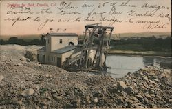 Dredging for Gold Postcard