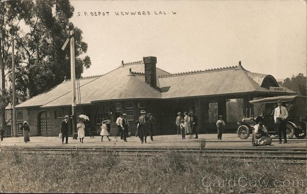 Southern Pacific Depot Kenwood California