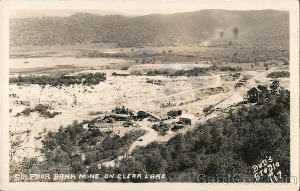 Sulphur Bank Mercury Mine Clearlake California