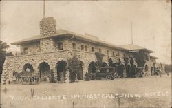 New Hotel Building, Agua Caliente Springs Postcard