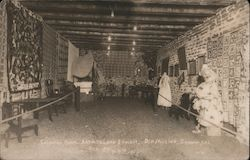 Colonial room, Art and Loan exhibit, Old Mission Sept 8th & 9th 1912