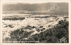 Sulphur Bank Mercury Mine Postcard