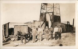 Milham Discovery Well Postcard