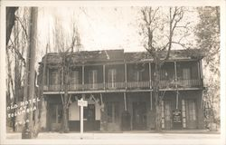 Old Hotel at Columbia Postcard