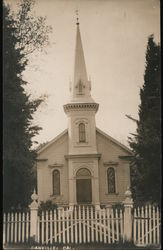 Danville Presbyterian Church Postcard