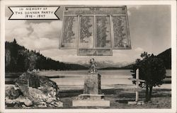 Donner Party Monument - In Memory of the Donner Party 1846-1847