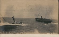 Wrecked San Pedro July 21, 1907