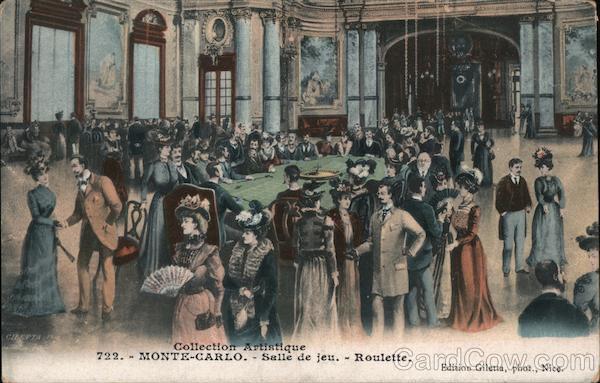 722. -Monte-Carlo.-Salle de jeu. - Roulette Casinos & Gambling