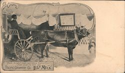 Pacific Creamery Co. Lily Milk. Southern California Exposition May 2nd to 14th 1907 Postcard