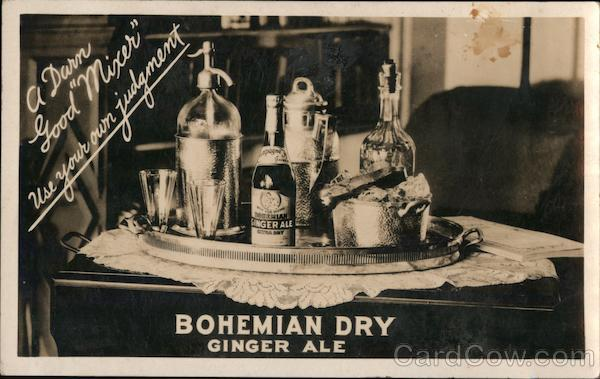 Bohemian Dry Ginger Ale Breweriana