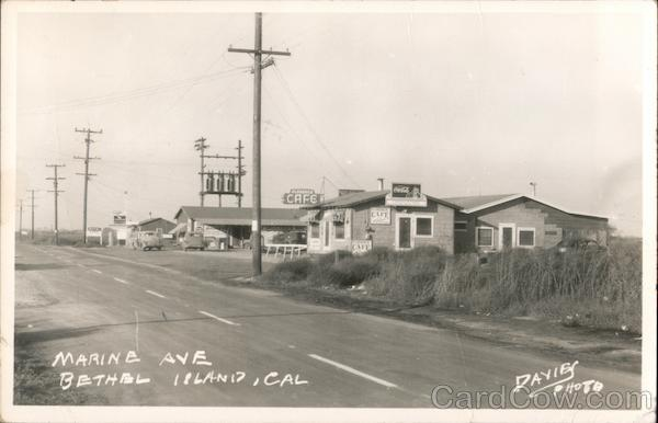 Marine Ave Bethel Island California Davies Photo