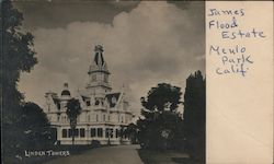 Linden Towers, James Flood Mansion Postcard
