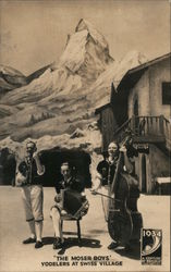 "1934 Century of Progress. ""The Moser boys"" Yodelers at Swiss Village Postcard"