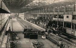 Rolling Mill-Rouge Steel Plant-Ford Motor Company Postcard