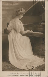 Myrtle Elvyn uses Kimball Piano Exclusively-American Tour-1911-12