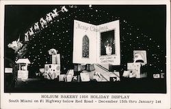 Holsum Bakery 1956 Holiday Display
