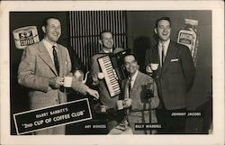 "Harry Babbitt's ""2nd cup of coffee club"". Art Wenzel, Billy Wardell, Johnny Jacobs"