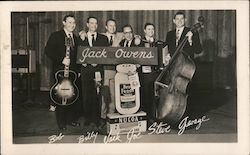 Jack Owens Radio Show - signed Bob, Billy, Jack, Joe, Steve, George