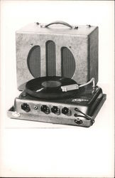 1950's Califone Portable Record Player Turntable
