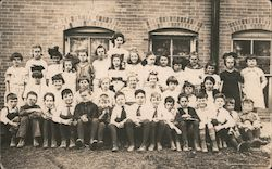 School class photo Postcard