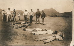 Bodies: Mexican Revolution Postcard