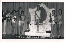 1960 Miss California Contest, Queen and runner-ups