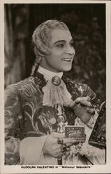 "Rudolph Valentino in ""Monsieur Beaucaire"" Postcard"