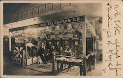 New England Telephone and Telegraph Company Exhibit Postcard