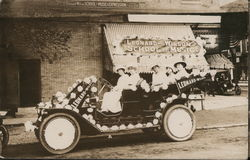 Leonard-Wilson School of Music Parade Car Postcard