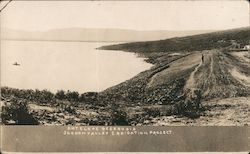 Antelope Reservoir. Jordan Valley Irrigation Project. Postcard
