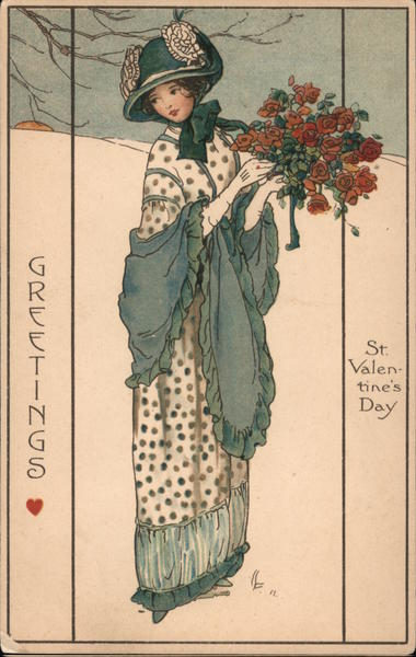Greetings - St. Valentine's Day Women