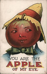 You are the apple of my eye Postcard